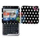 For Motorola Flipout MB511 Cover Hard Case Polka Dot