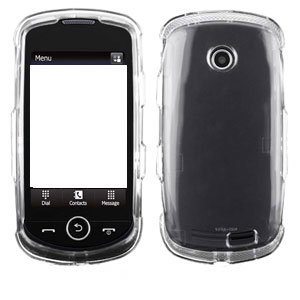 For Samsung Solstice II 2 A817 Cover Hard Case Transparent Clear