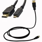 For HTC Evo 4G Micro HDMI to HDMI Cable 6ft