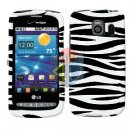 For LG Vortex VS660 Cover Hard Case Zebra