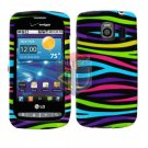 For LG Vortex VS660 Cover Hard Case Rainbow