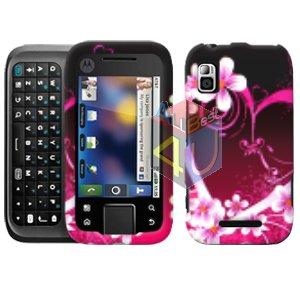 For Motorola Flipside MB508 Cover Hard Case Love