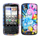 For Motorola Droid Pro A957 Cover Hard Case A-Flower