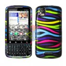 For Motorola Droid Pro A957 Cover Hard Case Rainbow
