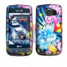 For LG Optimus U US670 Cover Hard Case A-Flower