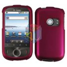For Huawei Ideos U8150 Cover Hard Case Rubberized Rose Pink