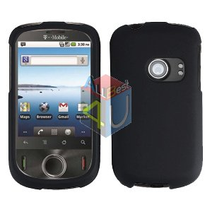 For Huawei Ideos U8150 Cover Hard Case Rubberized Black