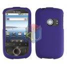 For Huawei Ideos U8150 Cover Hard Case Rubberized Purple