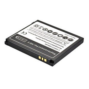 For HTC HD2 HD 2 Standard Replacement Battery Li-ion 11mah