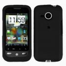 FOR HTC Droid Eris Cover Hard Case Rubberzied Black