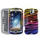 FOR HTC MyTouch 3G Slide Cover Hard Case C-Zebra