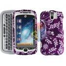 FOR HTC MyTouch 3G Slide Cover Hard Case P-Flower