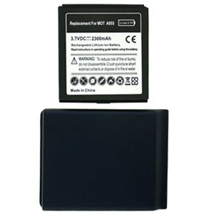 For Motorola Droid 2 A955 Extended Replacement Battery Li-ion-2300mah w/ Door Blue