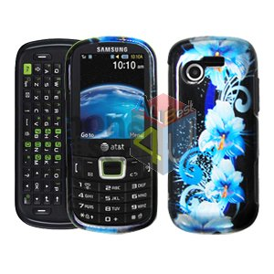 For Samsung Evergreen A667 Cover Hard Case Flower