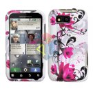 For Motorola Defy MB525 Cover Hard Case W-Flower