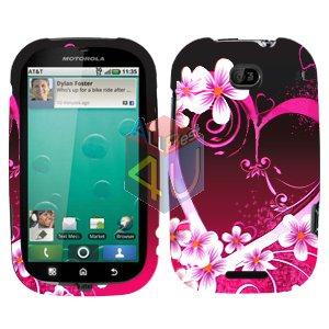 For Motorola Bravo MB520 Cover Hard Case Love