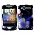 For HTC Wildfire 6225 Cover Hard Case B-Flower