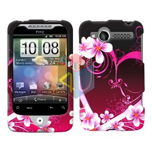 For HTC Wildfire 6225 Cover Hard Case Love