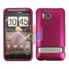 For HTC ThunderBolt Cover Hard Phone Case Rubberized Rose Pink