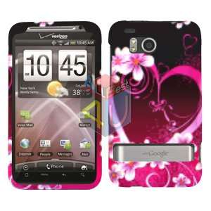 For HTC ThunderBolt Cover Hard Phone Case Love