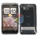 For HTC ThunderBolt Cover Hard Case Transparent Clear