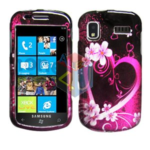 For Samsung Focus i917 Cover Hard Case Love
