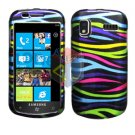 For Samsung Focus i917 Cover Hard Case Rainbow