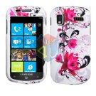 For Samsung Focus i917 Cover Hard Case W-Flower