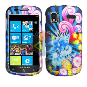 For Samsung Focus i917 Cover Hard Case A-Flower
