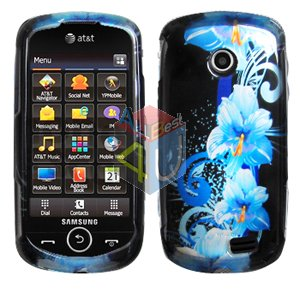For Samsung Solstice II 2 A817 Cover Hard Case Flower