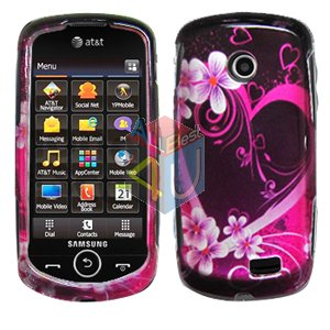 For Samsung Solstice II 2 A817 Cover Hard Case Love