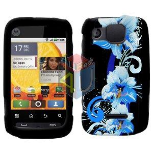 For Motorola Citrus WX445 Cover Hard Case Flower