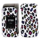 For Samsung Zeal / Alias 2 U750 Cover Hard Case R-Leopard
