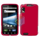 For Motorola Atrix 4G MB860 Cover Hard Case Rubberized Rose Pink