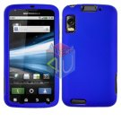 For Motorola Atrix 4G MB860 Cover Hard Case Rubberized Blue
