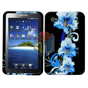 For Samsung Galaxy Tab Cover Hard Case Flower ( i800 / p1000 )