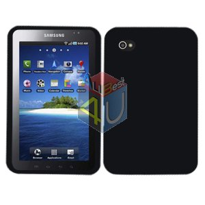 For Samsung Galaxy Tab Cover Hard Case Rubberized Black ( i800 / p1000 )