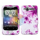 For HTC Wildfire 6225 Cover Hard Case H-Flower