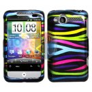 For HTC Wildfire 6225 Cover Hard Case Rainbow