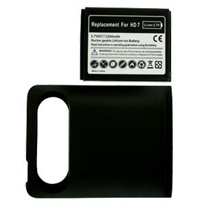 For HTC HD7 HD-7 Extended Replacement Battery Li-ion-2200mah w/ Door