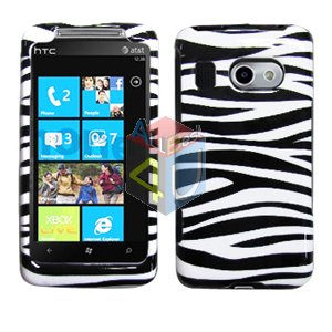 For HTC Surround T8788 Cover Hard Case Zebra