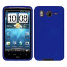 FOR HTC Inspire 4G Silicon cover case Blue