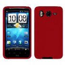 FOR HTC Inspire 4G Silicon cover case Red