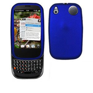 For Palm Pre 2 Cover Hard Case Rubberized Blue