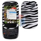 For Palm Pre 2 Cover Hard Case Zebra