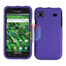 For Samsung Vibrant Galaxy S Cover Hard Case Rubberized Purple ( SGH-T959 )