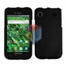 For Samsung Vibrant Galaxy S Cover Hard Case Rubberized Black ( SGH-T959 )