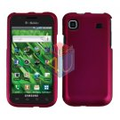 For Samsung Vibrant Galaxy S Cover Hard Case Rubberized Rose Pink ( SGH-T959 )