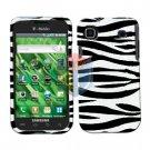 For Samsung Vibrant Galaxy S Cover Hard Case Zebra ( SGH-T959 )