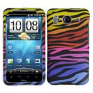 FOR HTC Inspire 4G Cover Hard Phone Case C-Zebra
